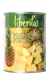 Pineapple pieces 580ml