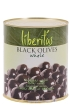 Whole black olives